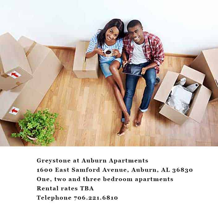 Greystone Properties Apartments is Coming soon to Auburn, AL