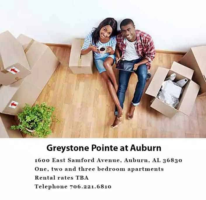 Greystone Properties Apartments is Coming soon to Auburn, AL