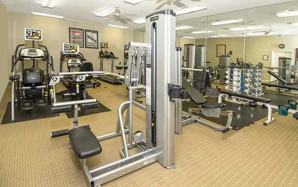 Another View of Gym Greystone Properties Columbus GA Apartments