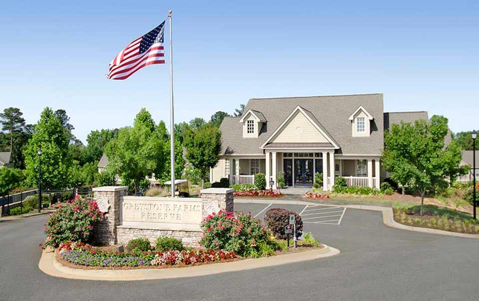 Club house Greystone farms Reserve Columbus GA Apartments