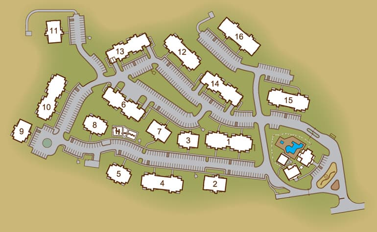 Greystone Summit Knoxville site plan