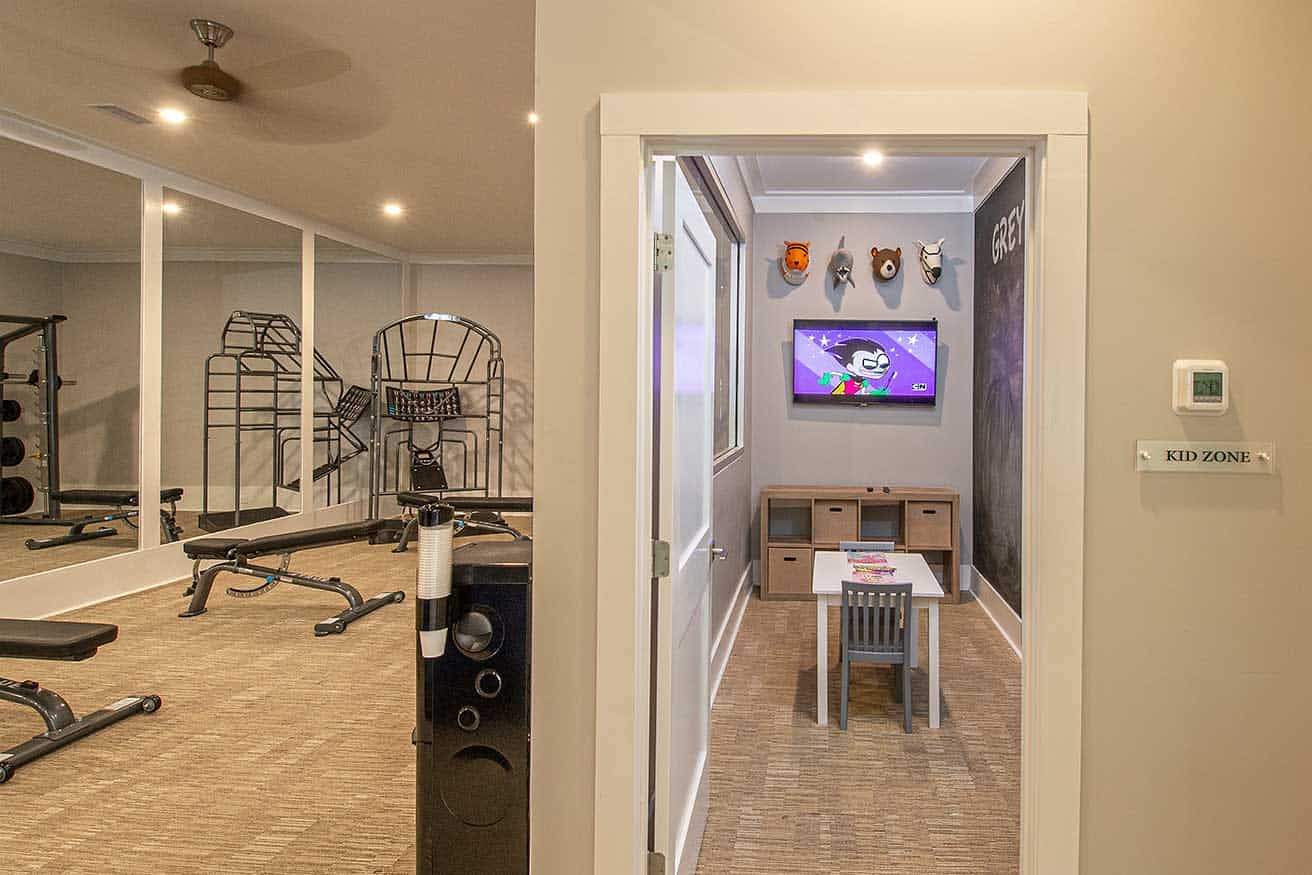 Greystone at The Woodlands Kids Zone in Fitness Center