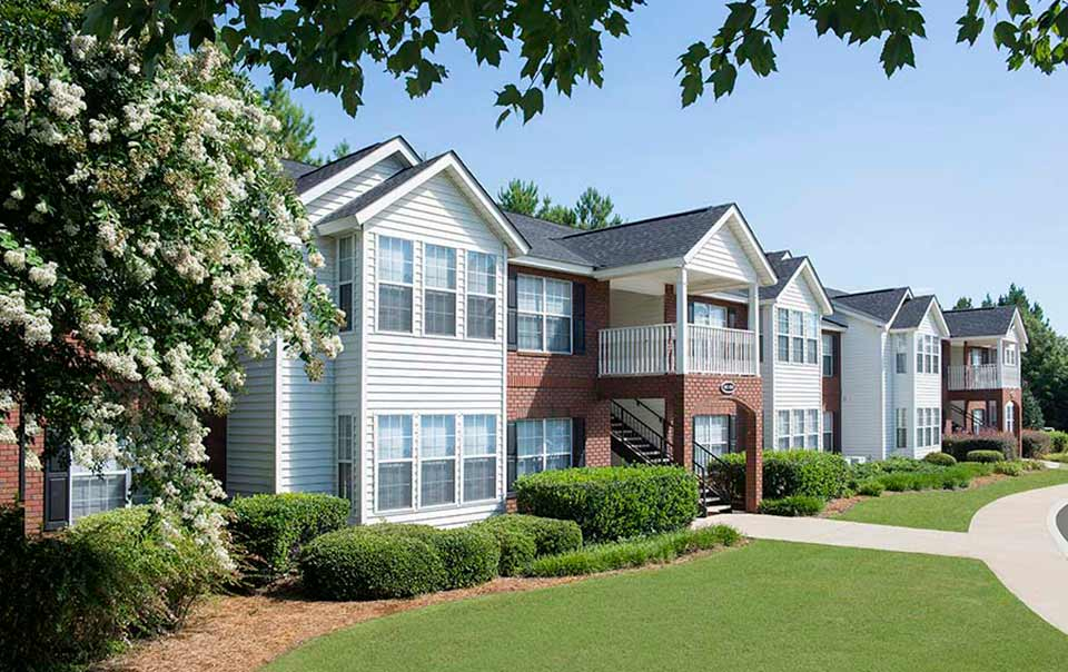 Covered Decks at Greystone at Inverness Columbus GA Apartments