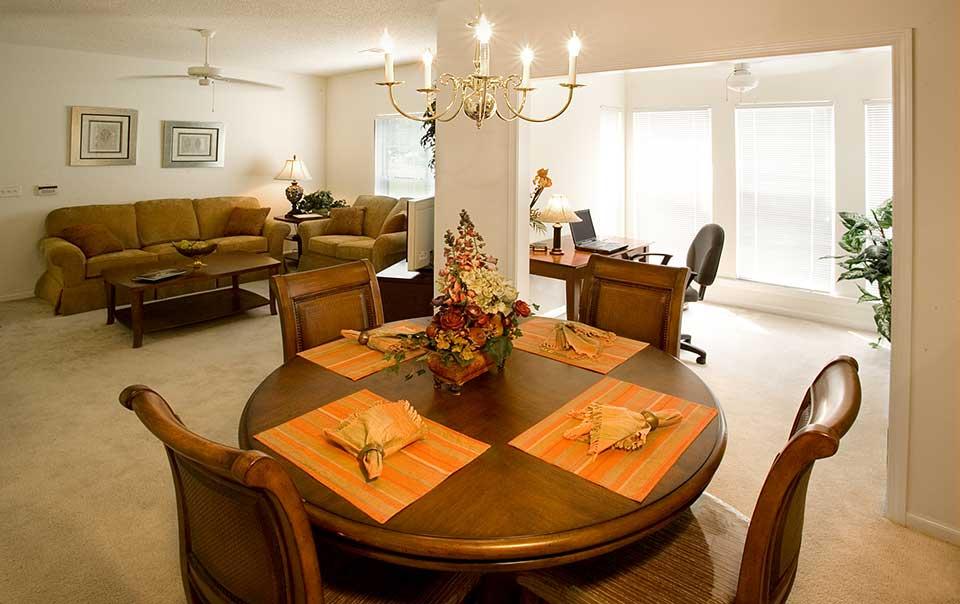 Greystone Properties Columbus, GA Apartments Inverness Living Room
