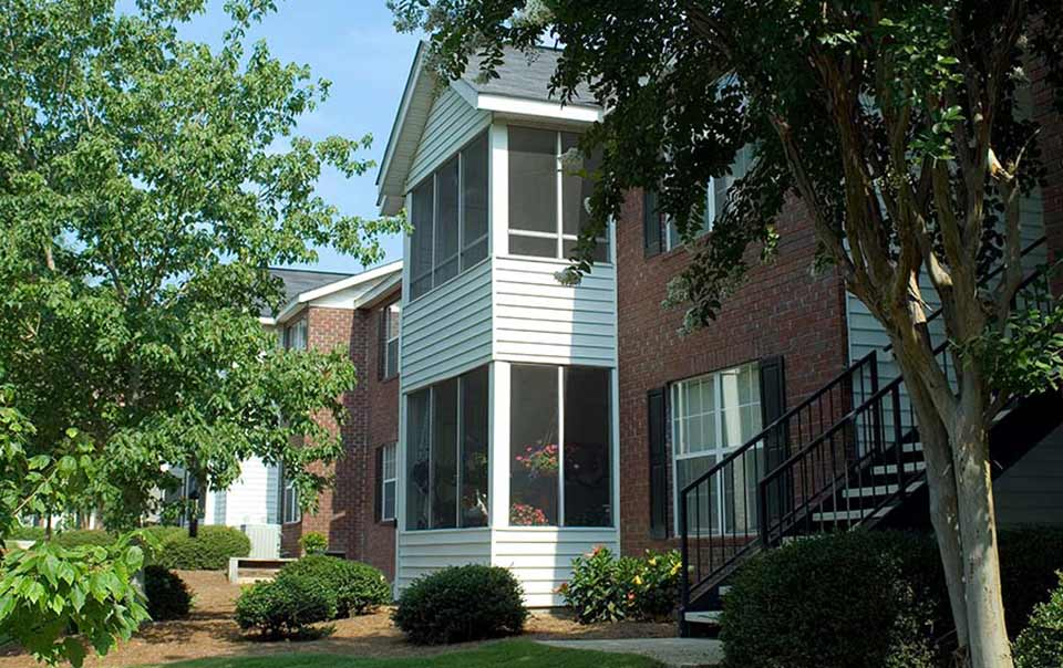 Main Street Greystone Apartments Screened Porches