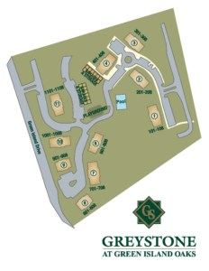 Greystone Properties Green Island Oaks Apartments Columbus, GA Site Plan