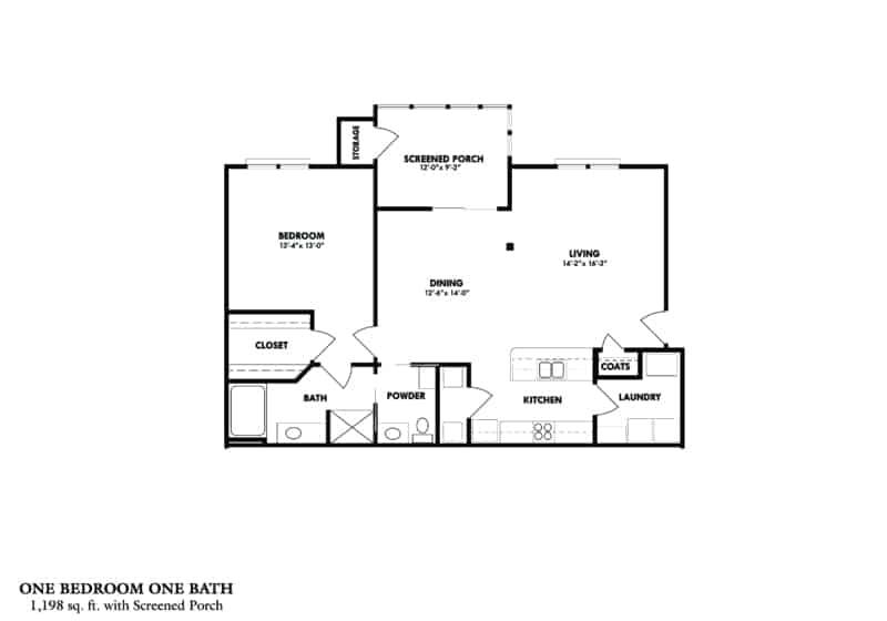 One bedroon B A Greystone Properties Columbus GA Apartment