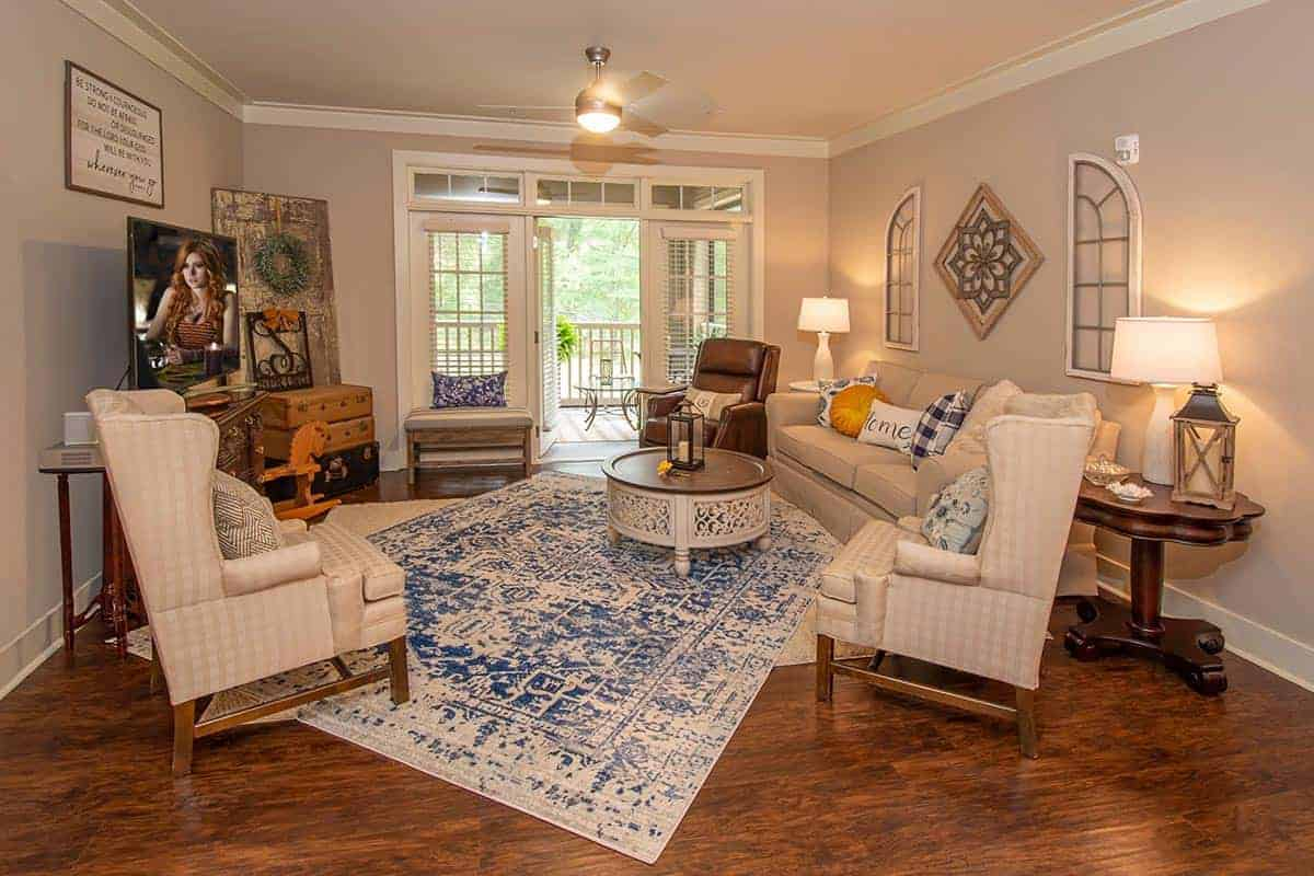 Greystone Oakland Leesburg Phase 2 Living Room