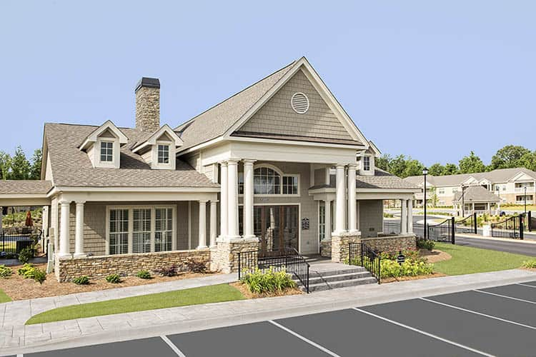 Greystone at Riverchase Luxury Clubhouse and Gated Entrance