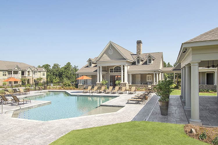 Greystone at Riverchase Pool with Covered Cabana