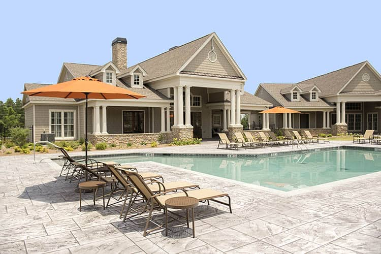 Greystone at Riverchase Resort Style Swimming Pool with Elegant Clubhouse