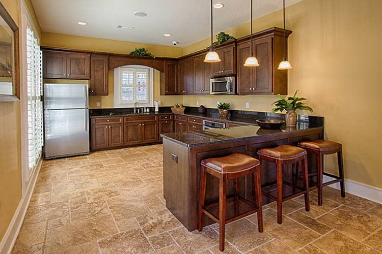 Greystone at Riverchase Upscale Clubhouse Kitchen