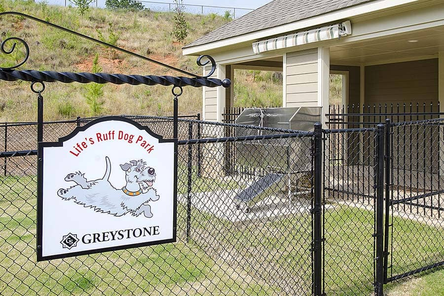 Greystone at Riverchase Exclusive Life's Ruff Dog Park