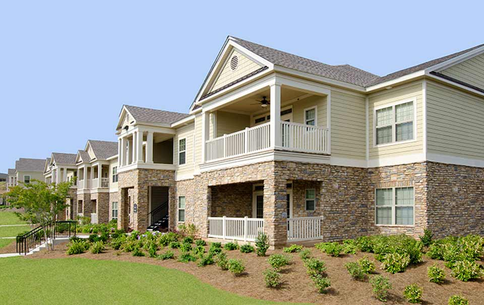 Greystone's apartments at RiverChase in Lee County