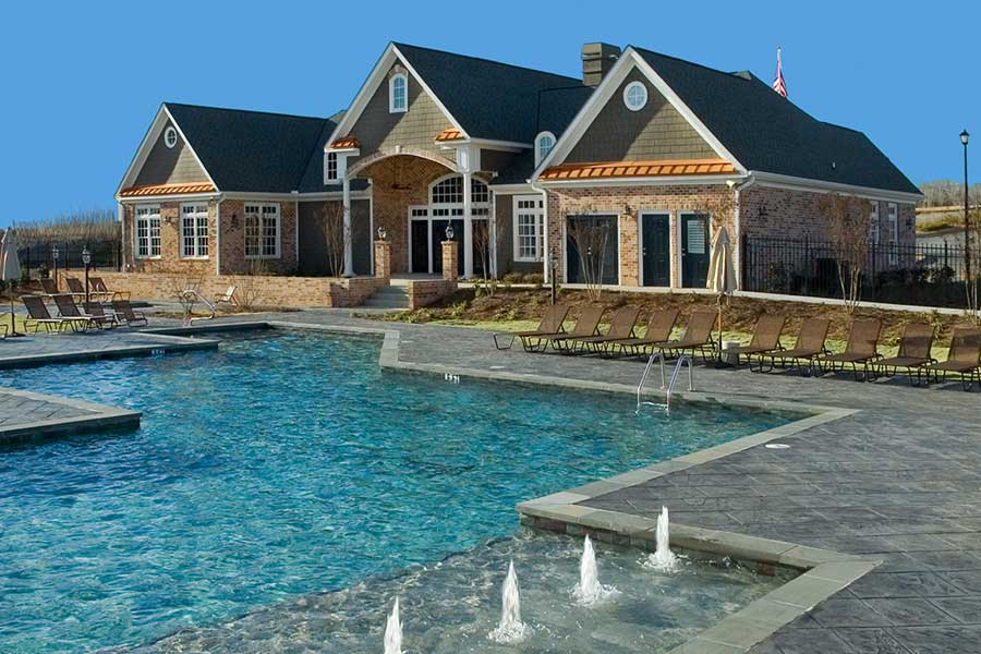 Greystone Properties Columbus, GA Apartments Summit Club House and Pool