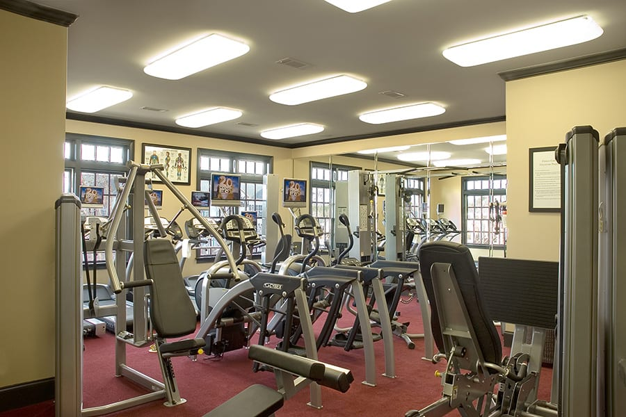 Greystone Properties Columbus, GA Apartments Summiot Gym