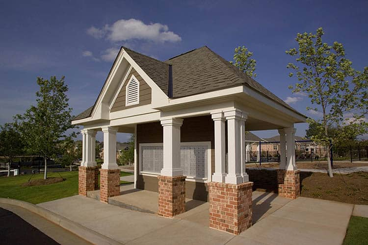 Greystone Summit Mail Kiosk with Parcel Boxes