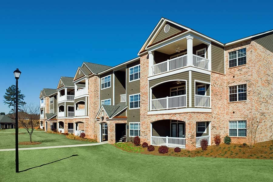 Greystone Properties Columbus, GA Apartments Summit Exterior Views