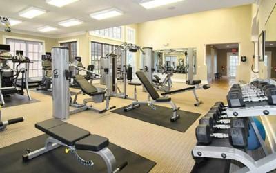 Greystone Properties Knoxville TN Summit Weight room