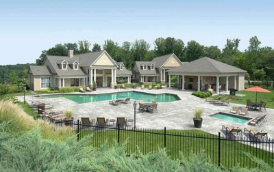 Pool Clubhouse, Gazebo at Summit at Greystone Properties Knoxville,TN Apartments