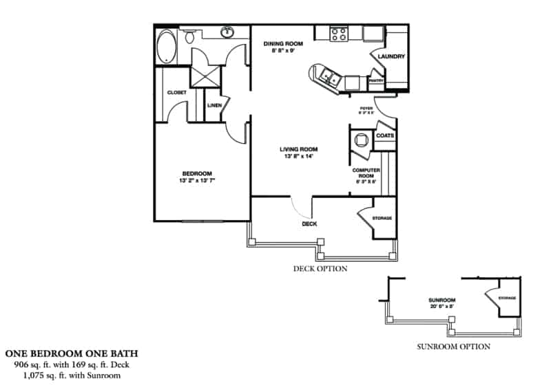 Greystone Properties Columbus, GA apartments summit olympus one bedroom floor plan