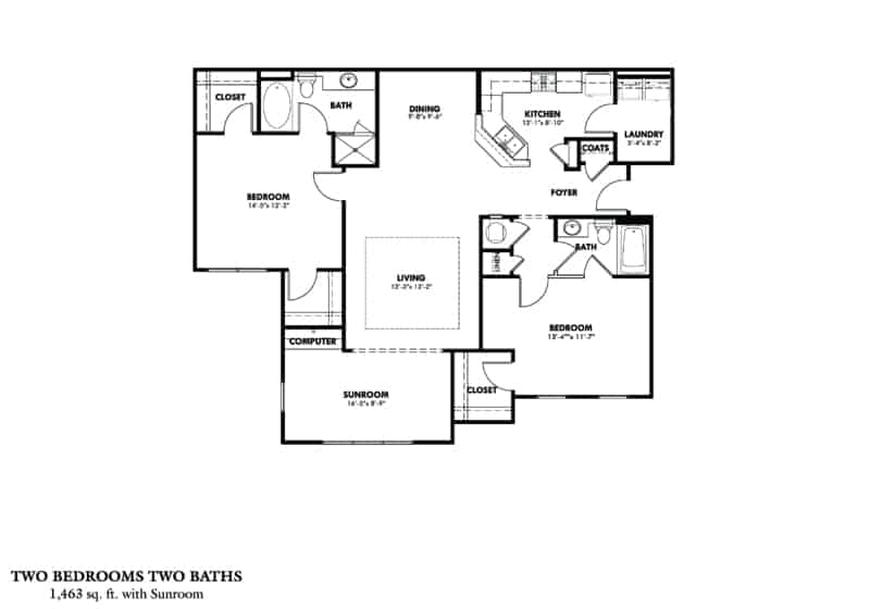 Two Bedroom (BSR) - Phase II