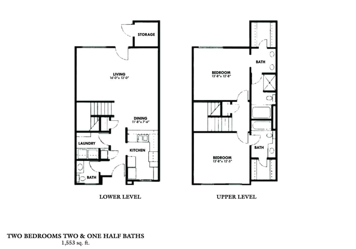 Greystone Properties Columbus, GA Apartments two bedroom town house
