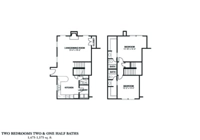 Two bedroom townhouse rent from $770 2 beds, 2 baths