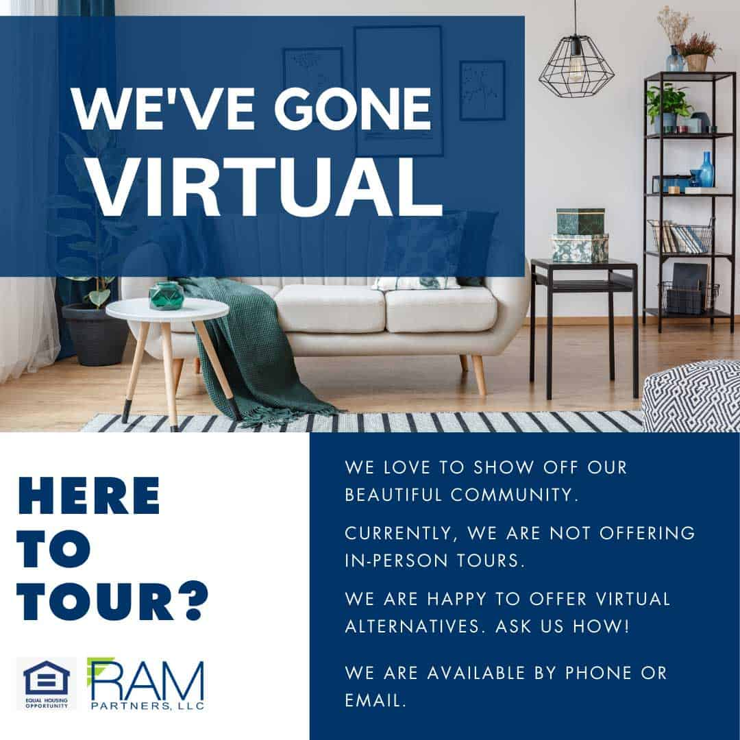 Greystone Apartments has gone virtual on tours