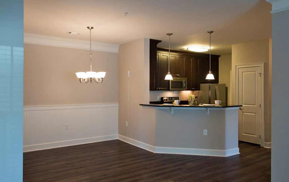 Greystone Apartments Knoxville, TN vista kitchen