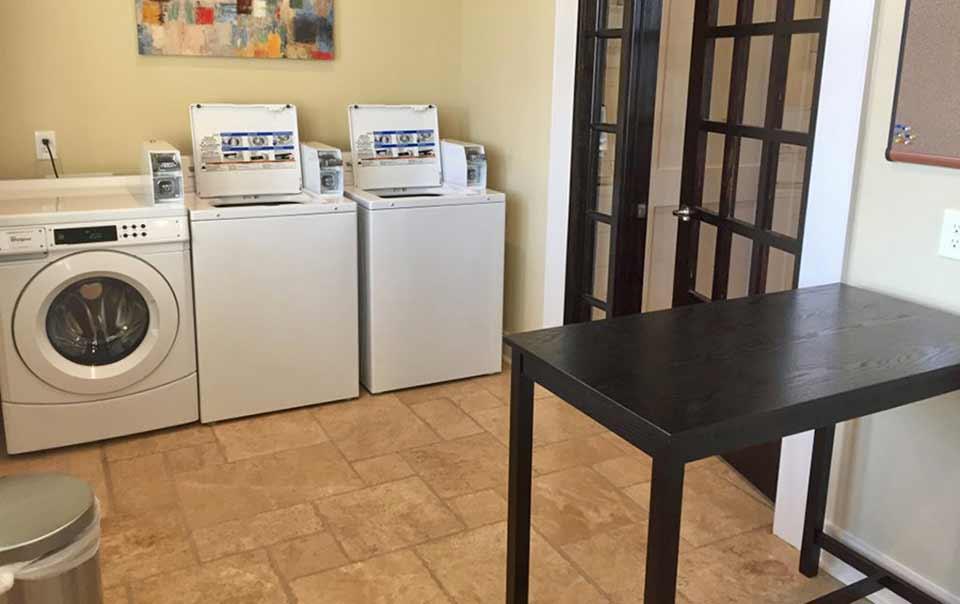 Greystone Apartments Knoxville, TN laundry area