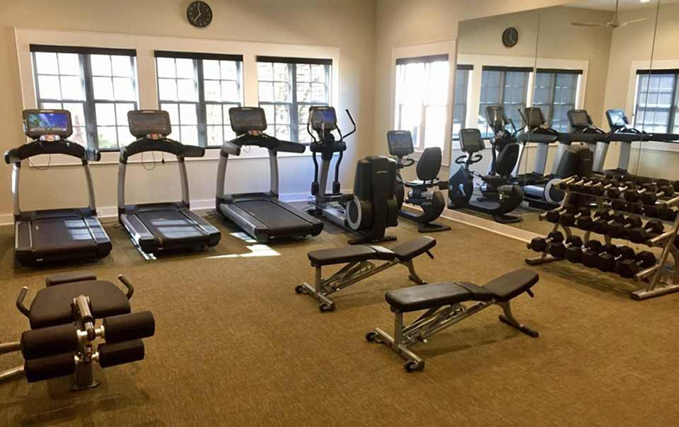 Greystone Apartments Knoxville, TN vista fully equipped gym