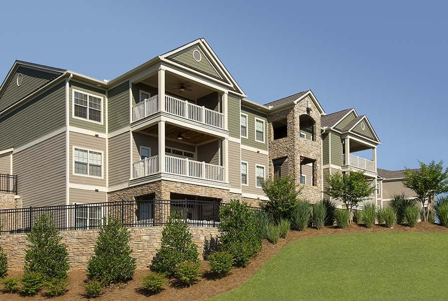 Greystone Apartments Knoxville, TN covered decks