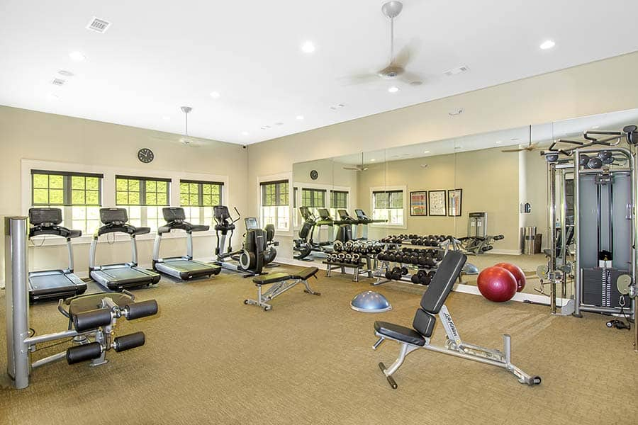 Greystone Apartments Knoxville, TN fitness area