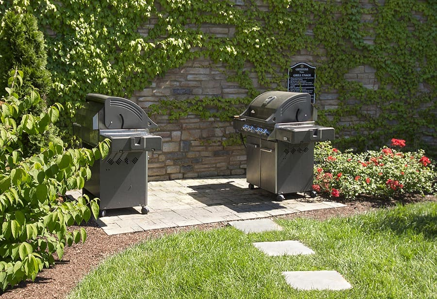 Greystone Apartments Knoxville, TN grilling area