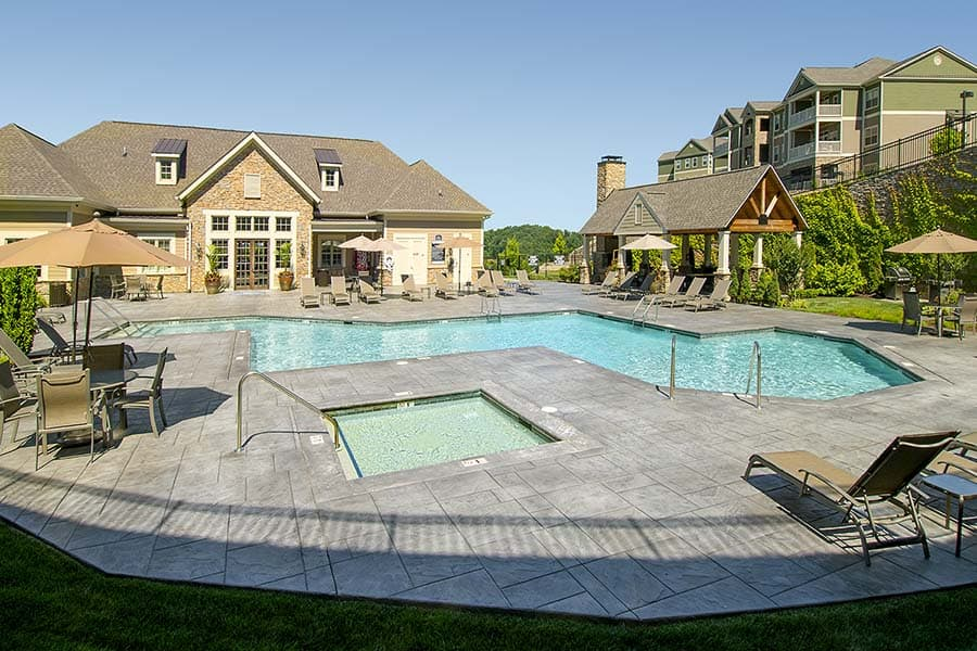 Greystone Apartments Knoxville, TN pool