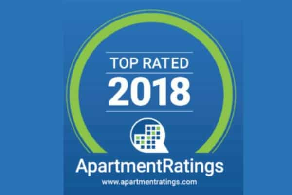 Ten Greystone Apartment Properties are 2018 Top Rated places to live.