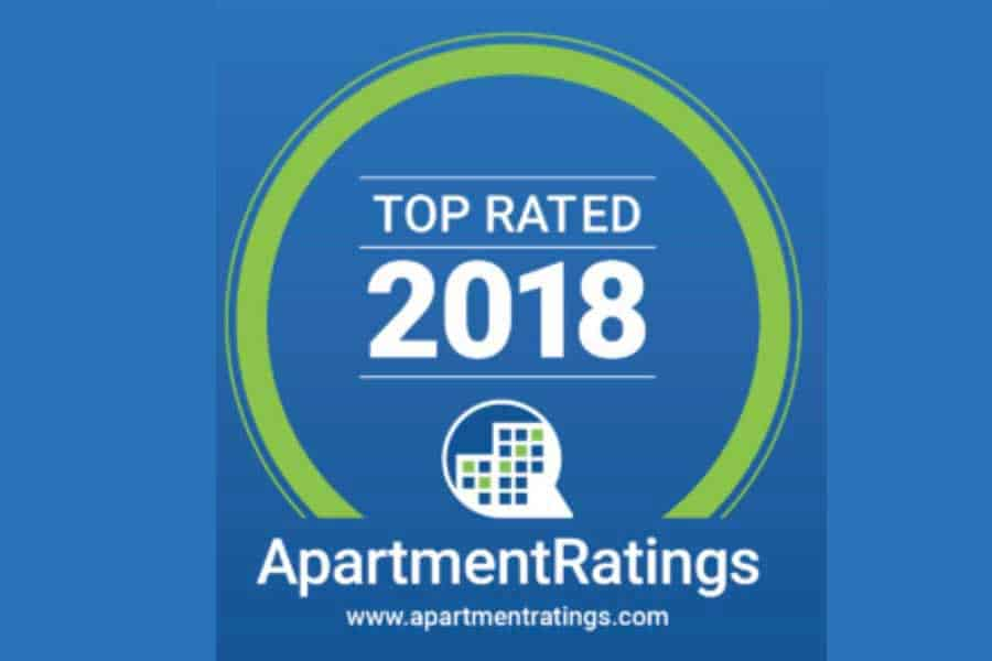 Apartrment Ratings rated Greystone Summit Tops for 2018