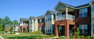 Exterior view Creekwood apartments Albany and Leesburg GA