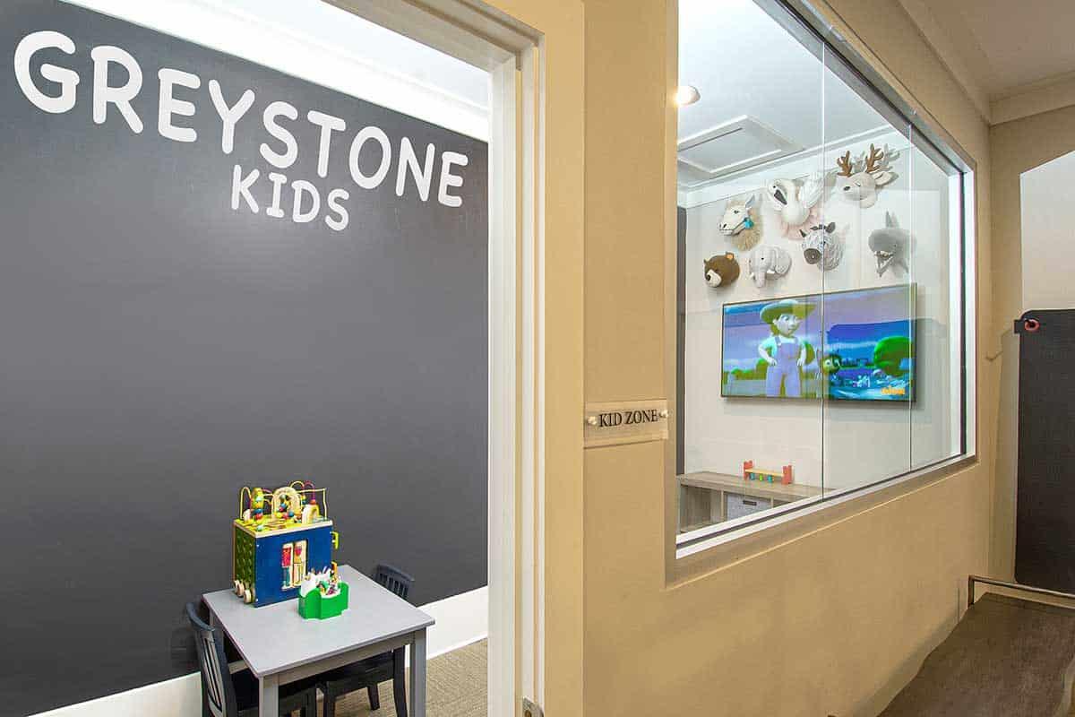 Greystone Properties Farms New Fitness Center Kids Area