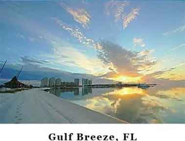 Enjoy the beautiful Gulf in one of our Gulf Breeze Communities where luxurious living is assured.