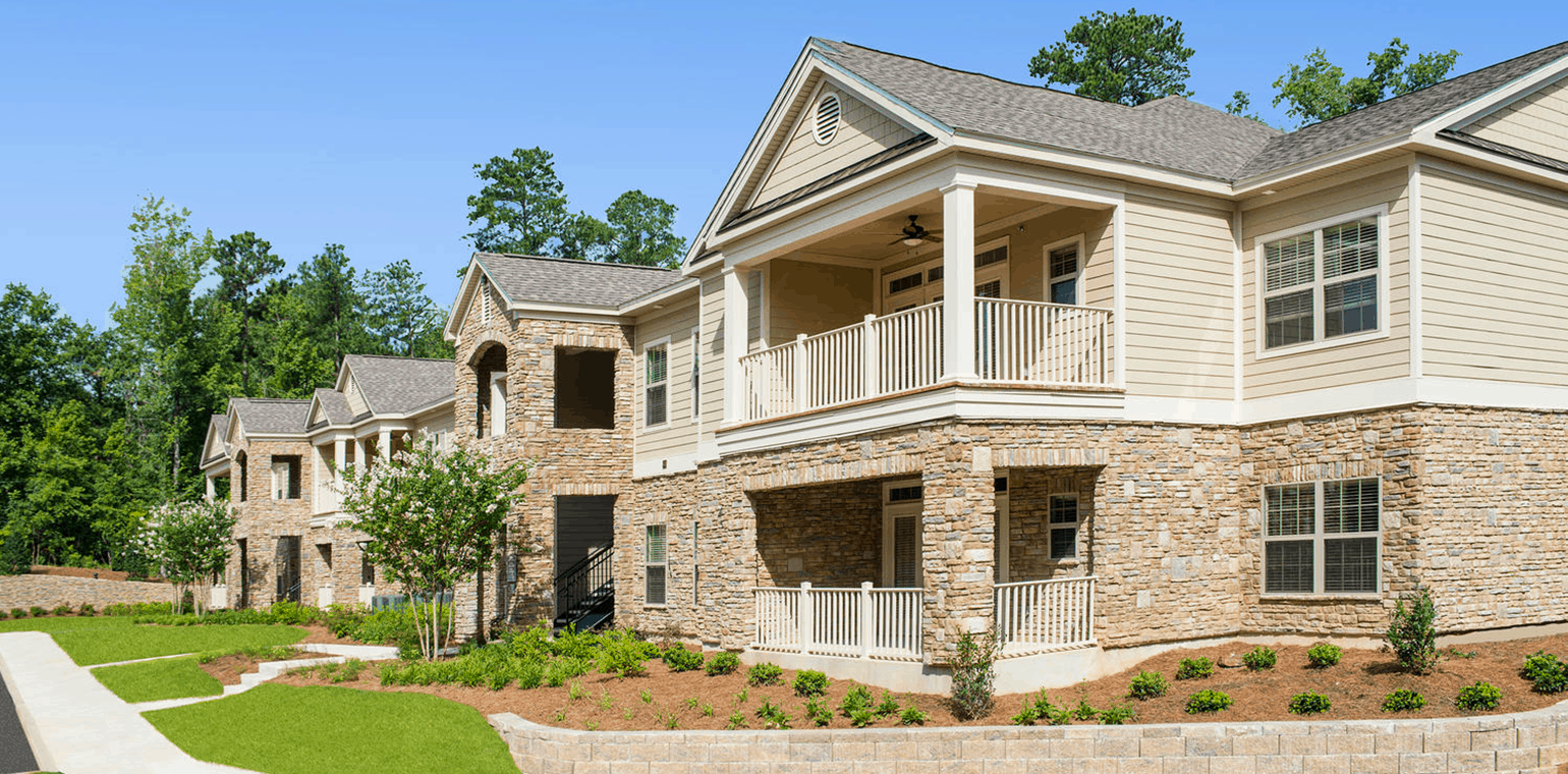Greystone at Riverchase Private Decks/Patios