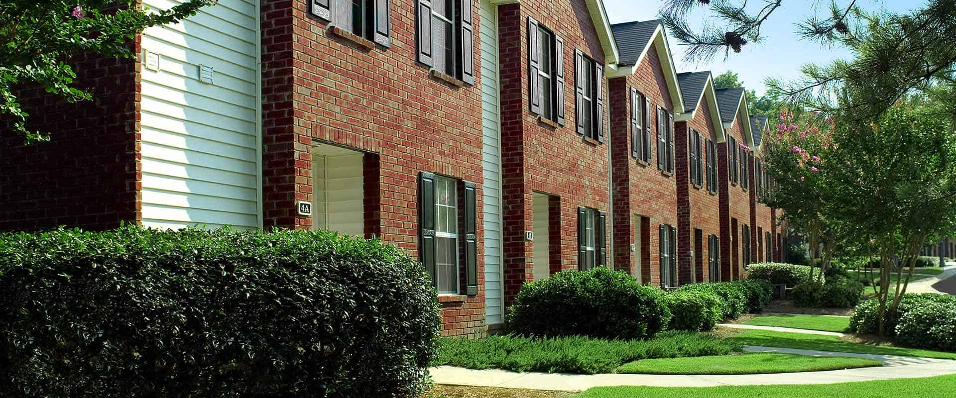Exterior Views of Main Street Apartments