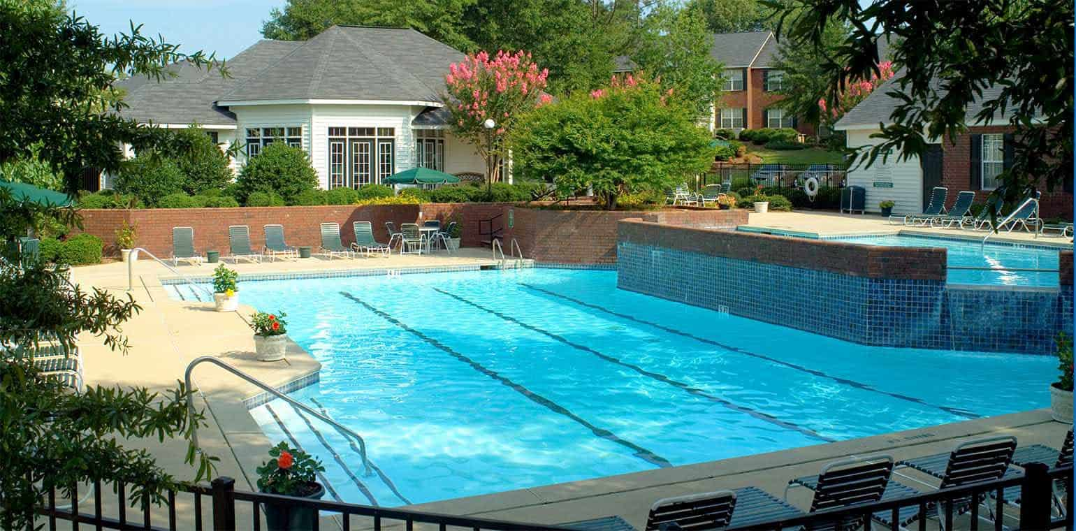 Greystone Properties Columbus, GA at Main Street Corporate Stay Apartments pool