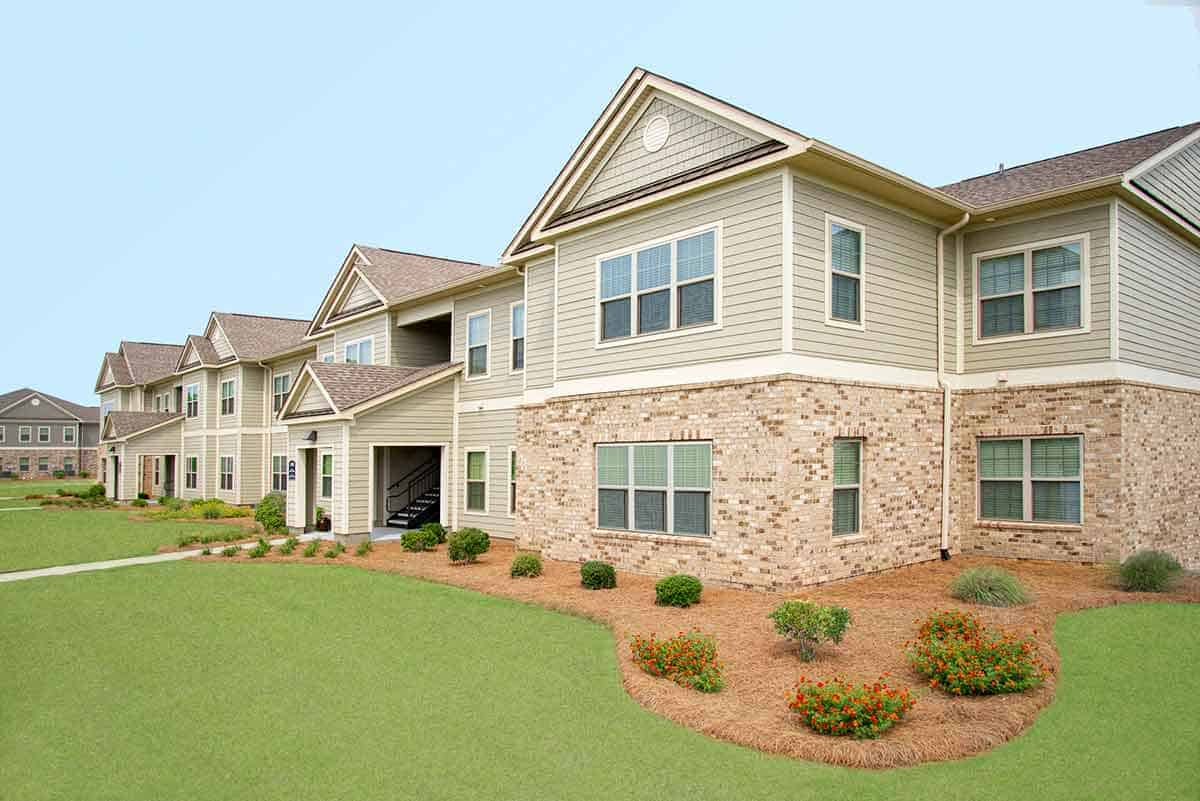 Greystone Properties Oakland Leesburg, GA Exterior Sun Room Buildings