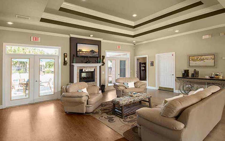 greystone properties gulf breeze reserve apartments club house interior