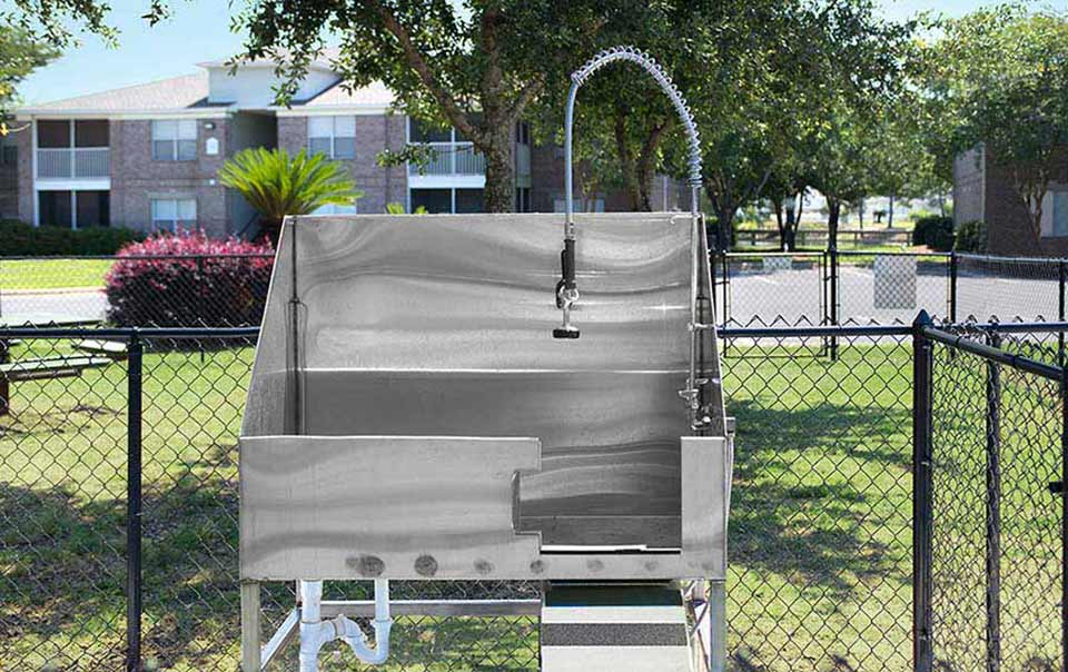 greystone properties gulf breeze reserve apartments dog washing station