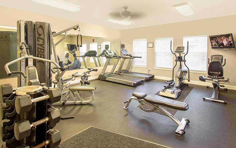 greystone properties gulf breeze reserve apartments fitness gym