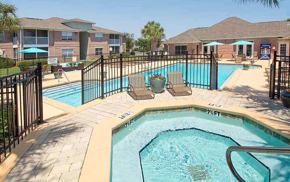 greystone properties gulf breeze reserve apartments hot tub