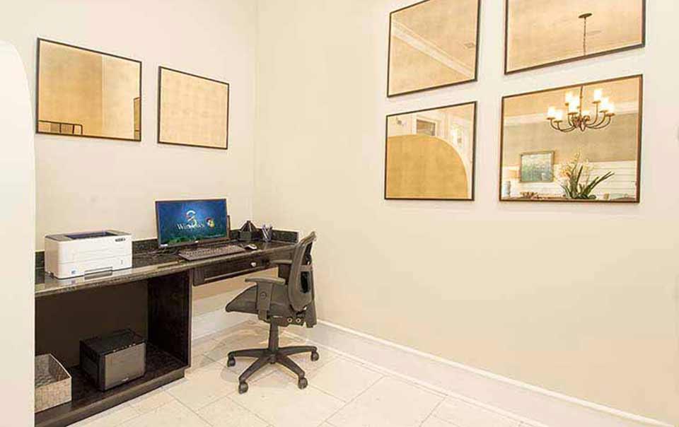 business center atgreystone properties gulf breeze reserve apartments